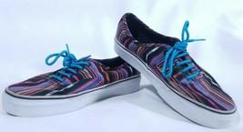 VANS Shoes Southwest Striped Colors Blue Laces Style TC6D Unisex Aztec I... - $45.53