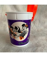 Walt Disney World Popcorn Bucket W/ Lid Halloween 2018 Mickey & Minnie M... - $14.89