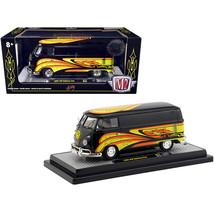 DDS-10314 1960 Volkswagen Delivery Van Black Pearl Kelly Crazy Painter L... - $39.33