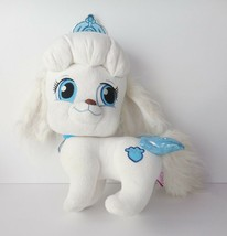 Disney Princess Palace Pet Pumpkin Dog Cinderella White Blue Crown Plush... - $18.40