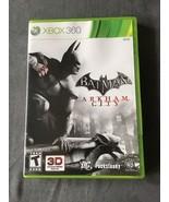 Batman Arkham City Microsoft Xbox 360 3D Compatible Game Complete - $9.00