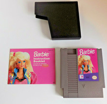 Barbie game cartridge w/manual NES (Nintendo Entertainment System, 1991) - $14.54