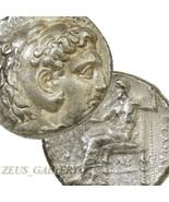 ALEXANDER the Great Tetradrachm Babylon. Herakles Zeus Ancient Greek Sil... - $350.10