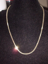 VTG FOUR SEASONS 24kt Gold Electroplate Necklace - 24.5 inches in length - $14.85
