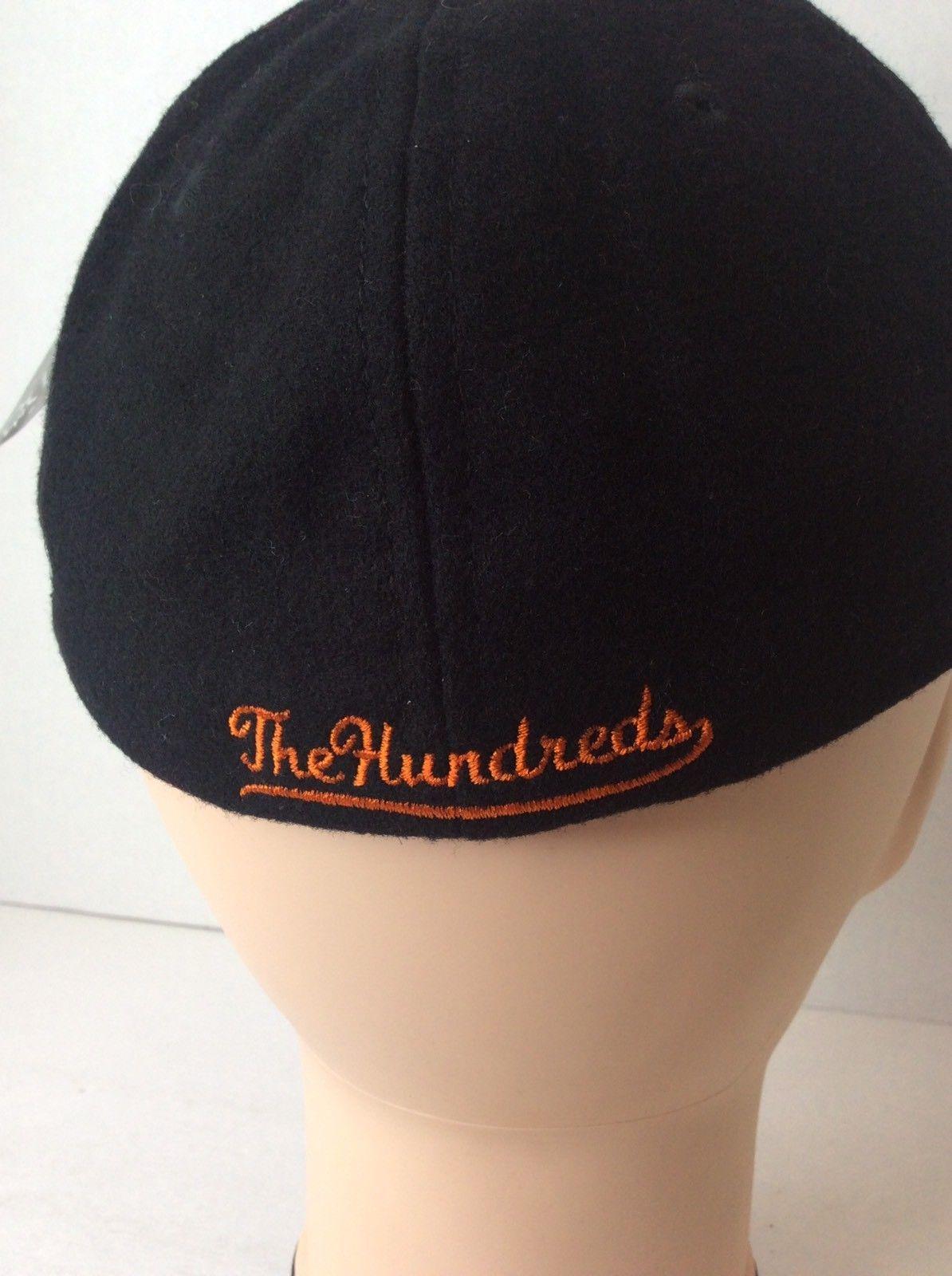 New Era The Hundreds 29TWENTY Black Orange SF San Francisco Baseball Hat Cap Sm