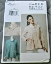 Pattern Vogue Designer Jacket Loose Fit March Tilton V8709 Uncut - $14.35