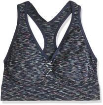 Hanes Womens Get Cozy Racerback Bra Pullover Navy Space Dye ComfortFlex ... - $7.87