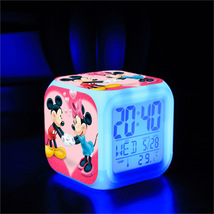 Mickey Mouse #01 Led Alarm Clock Figures LED Alarm Clock - $25.00