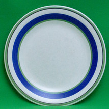 """Vintage Tre Ci (Italy) 10"""" Dinner Plate, Blue And Green - $2.95"""