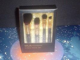 MUA Makeup Academy Professional 5 piece, Makeup Brushes Travel Set #9652... - $17.77