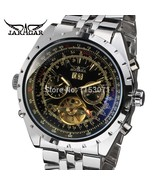 JARAGAR Men's Watch Fashion Stainless Steel Automatic Hot Sale 5 Hands S... - $53.53