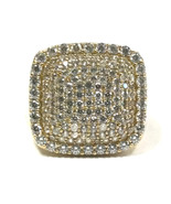 Men's 10kt Yellow Gold Cluster ring - $449.00