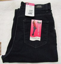 Lee  Classic Fit Straight-Leg Jeans HORIZON Women's Sz PETITE 10P NWT MS... - $26.00