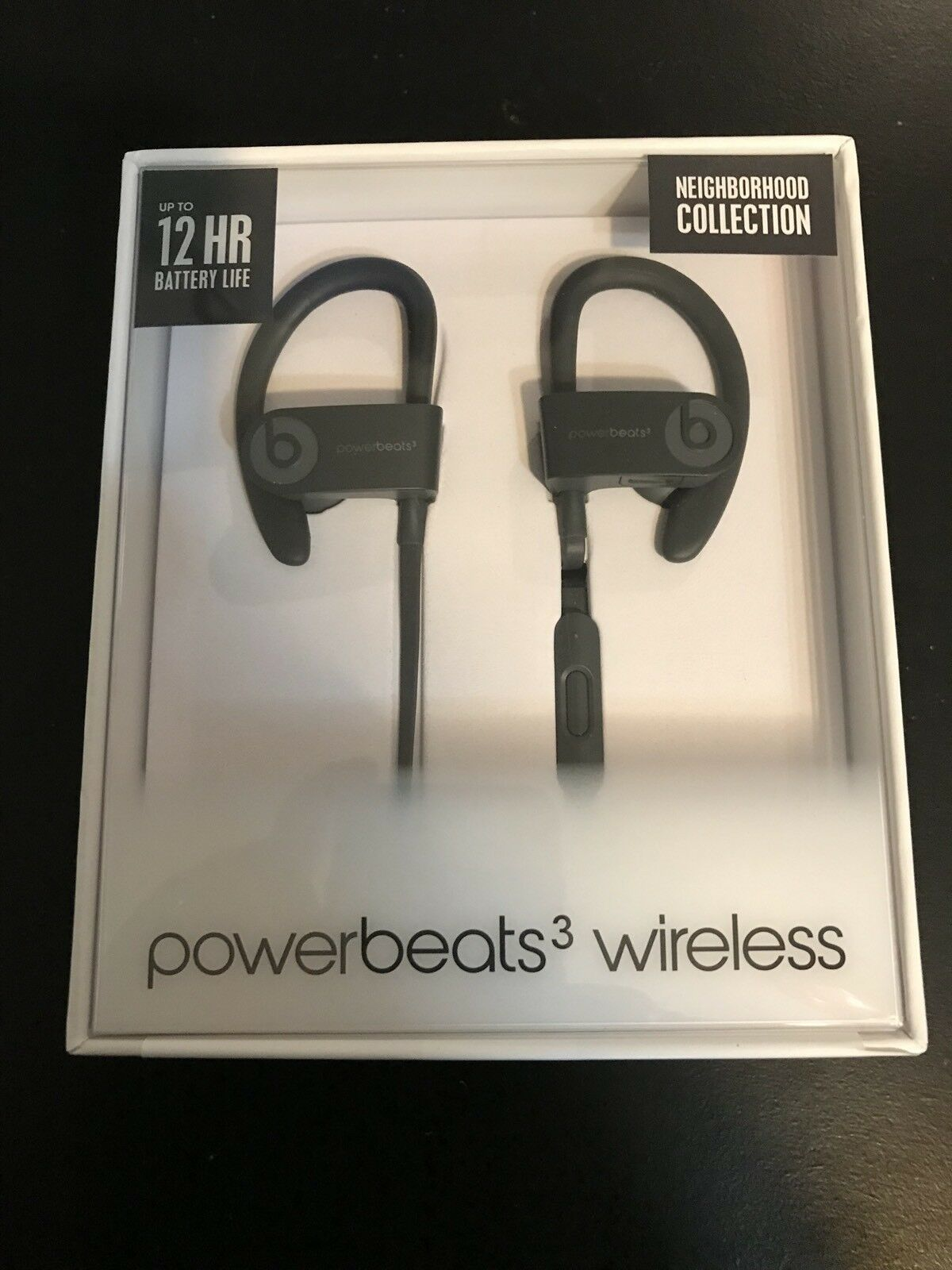 Powerbeats3 Wireless Earphones - Neighborhood Collection - Asphalt Gray NEW