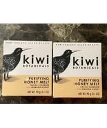 Kiwi Botanicals. Purifying Honey Melt Cleanser , 3.1 oz. Lot Of 2 - $24.74