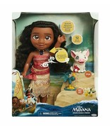 NEW SEALED Disney Singing Moana And Friends Adventure Doll Playset - $55.74