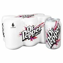 Dr Pepper Zero 6 x 330ml - $21.90