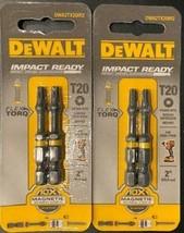 DEWALT DWA2TX20IR2 T20 FLEX TORQ IMPACT READY Screw Bit Tips 2 - 2packs - $7.92