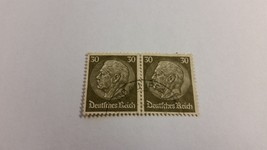 1932 Germany Deutsches-Reich Postage Stamp Paul von Hindenburg 2 Stamps  - $1.49
