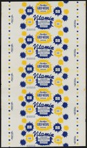Vintage bread wrapper HAISLIPS GOLD MEDAL Norton Virginia Logan West Vir... - $8.99