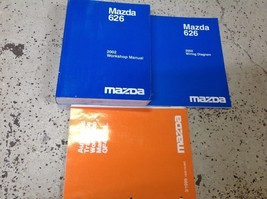 2002 Mazda 626 Service Repair Shop Workshop Manual Set W EWD + Transaxle Bk OEM - $59.35