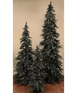 NEW Beautiful Grey-Green Downswept Alpine Christmas Tree 3'4'5' Rustic H... - $75.23+