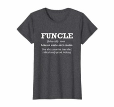 Funny Shirt -  Funcle Fun Uncle Definition Funny Uncle T Shirt Wowen - $19.95