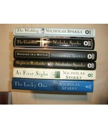 Nicholas Sparks Lot of 6 Hardcovers - $13.50