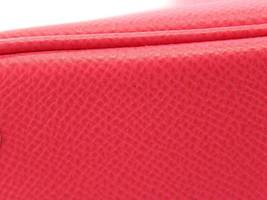 HERMES Bolide 27 Epsom Rose Extreme #D Handbag Shoulder Bag Authentic 5554645 image 4