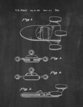 Star Wars Landspeeder Patent Print - Chalkboard - $7.95+