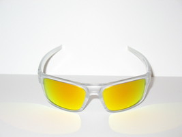 655384a8df Oakley Drop Point Matte Clear Frame / Fire Iridium Lenses - $89.95