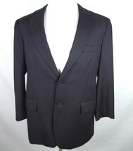 Brooks Brothers Suit Coat Mens Size 42 S Madison 2 Button Charcoal Gray ... - $27.68