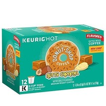 Donut Shop Nutty Caramel Coffee K-Cups, 12 Ct. Box Retail Packaging - $22.60