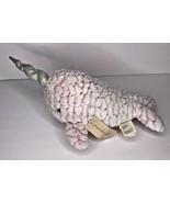 First Impressions Macys Macy's Stuffed Plush Narwhal Pink Whale Unicorn ... - $38.61