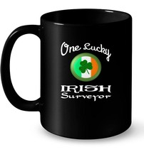 Great St Patricks Day Ceramic Mug for Surveyors - $13.99+