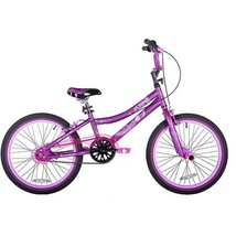 "This 20"" Kent 2 Cool Girls' BMX Bike, Satin Purple includes single-speed... - $101.31"