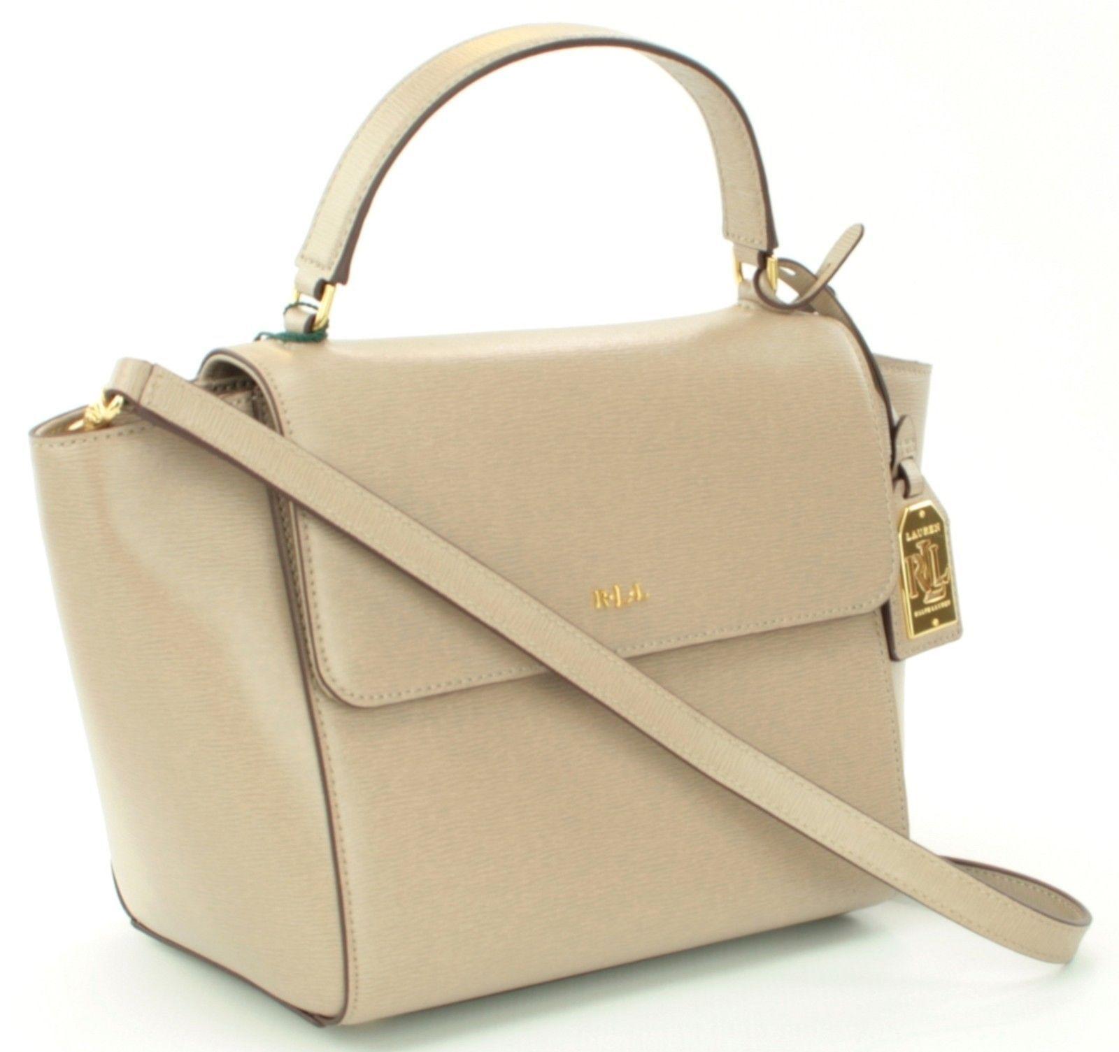 6a2cc37fd Ralph Lauren Barclay Tote Shoulder Bag Crossbody Handbag Beige RRP £215
