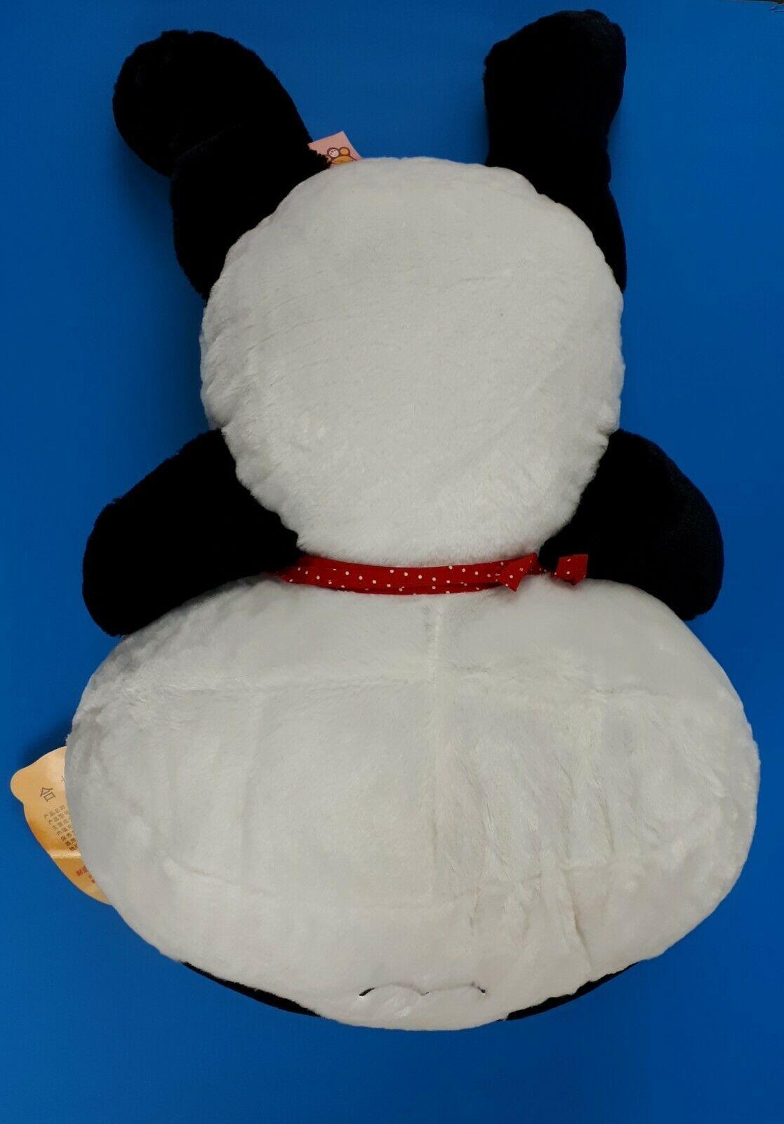 """Super Cute Smilling Panda Pillow Soft Plush Doll Kawaii Stuffed Animal 20"""" NEW image 6"""