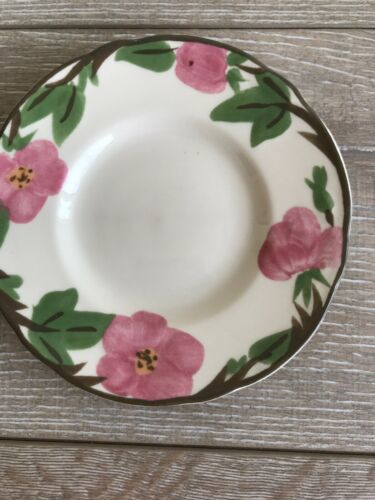 "Set 10 Franciscan Desert Rose Bread Plate 6"" New Modern Stamp Replacement image 7"