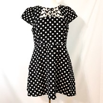 Maeve Anthropologie Nikola Polka Dot Dress 10P - $34.55
