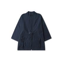 Aelfric Eden Thin Coat Man Japanese Style Retro Windbreaker Men Loose Mi... - $39.09