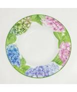 "American Atelier At Home - Hydrangea - 9.25"" Large Rim Porcelain Soup Bowl - £7.19 GBP"