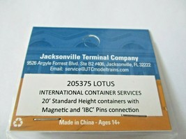 Jacksonville Terminal Company # 205375 Lotus 20' Standard Container (N image 2