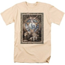 Dark Crystal T-shirt 80s movie poster retro style 100% tan cotton tee DKC131 image 1