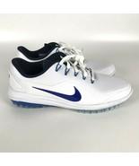 Nike Lunar Control Vapor 2 Golf Cleats Size 11.5 White Hyper Royal 89963... - $83.70