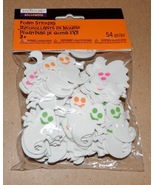 "Halloween Foam Stickers 54pc Creatology Ghosts 1 1/2"" x 1 1/2"" 170H  - $4.94"
