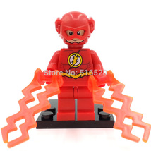 The Flash DC Minifigures Marvel Super HeroesAvengers Building Block Bricks Toys - $4.99