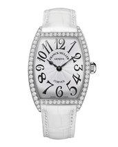 Franck Muller ladies  curvex stanless steel diamond watch 1752 qz dp   - $7,500.00
