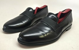 Salvatore Ferragamo Men's Formal Black Patent Leather Loafers Size 9.5D #UG73695 - $148.50