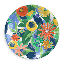 Midsummer Floral Collection 12 Piece Melamine Dinnerware Set by TarHong - $117.76